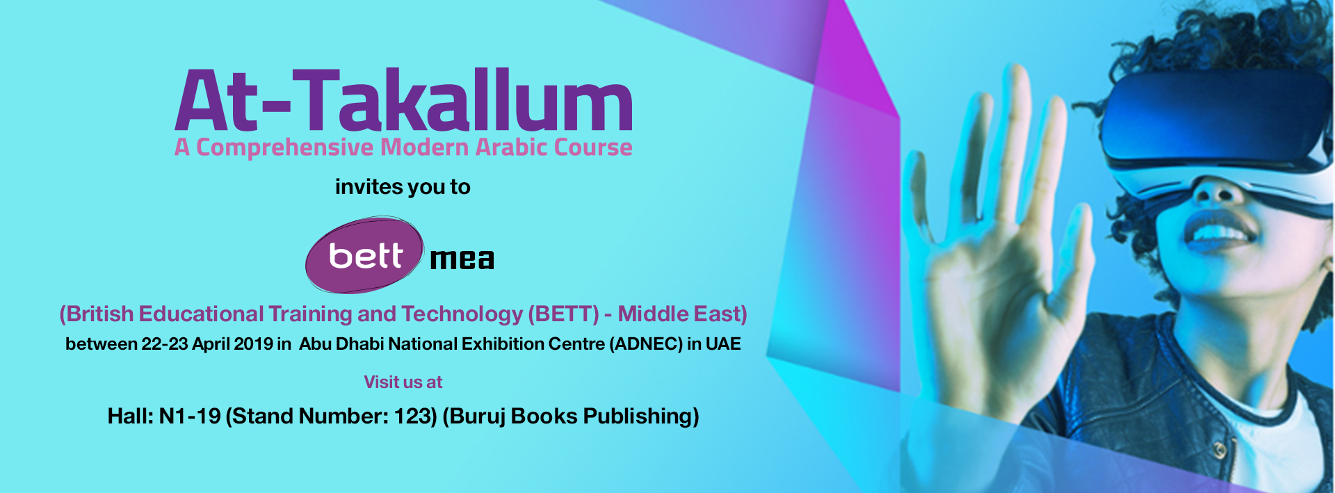 BETT MIDDLE EAST AND AFRICA 2019